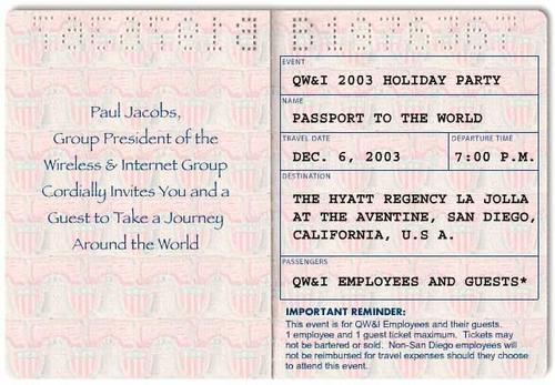 Passport - Inside